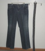 Route 66 Denim Jeans with Belt In Women's Size 13/14 Juniors in Plainfield, Illinois