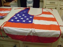 "Dog Halloween ""American Flag"" Costumes - Size Large (2 Available) in Houston, Texas"