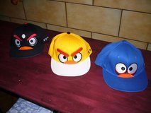FUNNY ANGRY BIRD /SILLY EXPRESSION BASEBALL HATS in Ramstein, Germany
